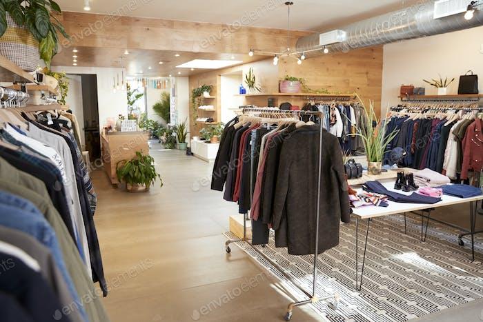 Kleidung Shop Interieur