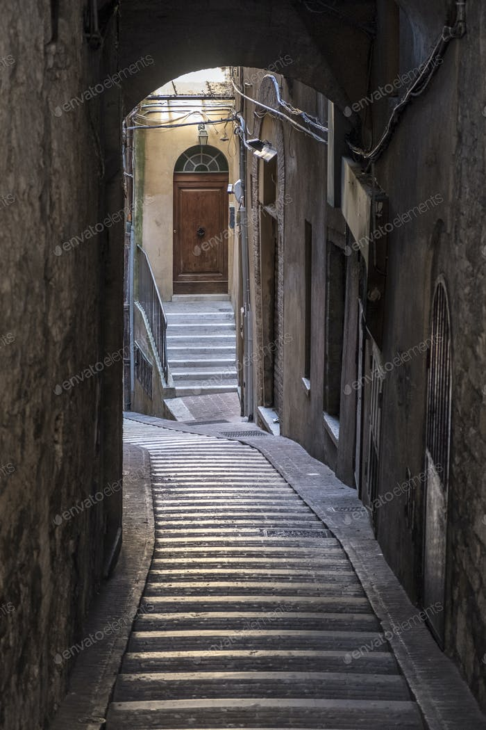 Historic buildings in Perugia