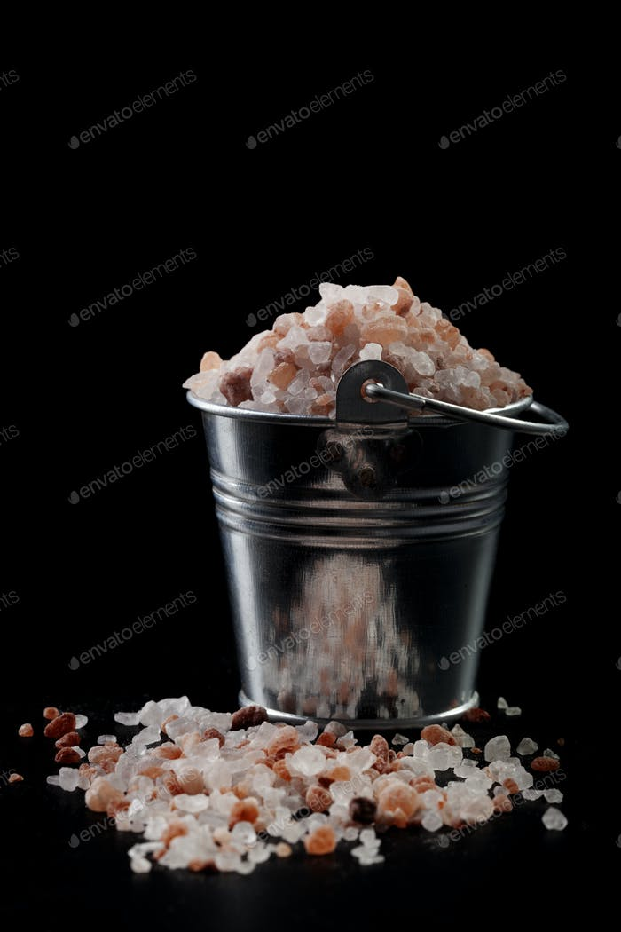 Salt in Bucket
