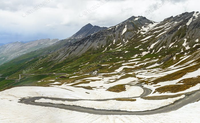 Colle dell'Agnello, French Alps