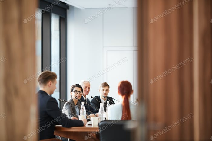 Conference Room Through Doors