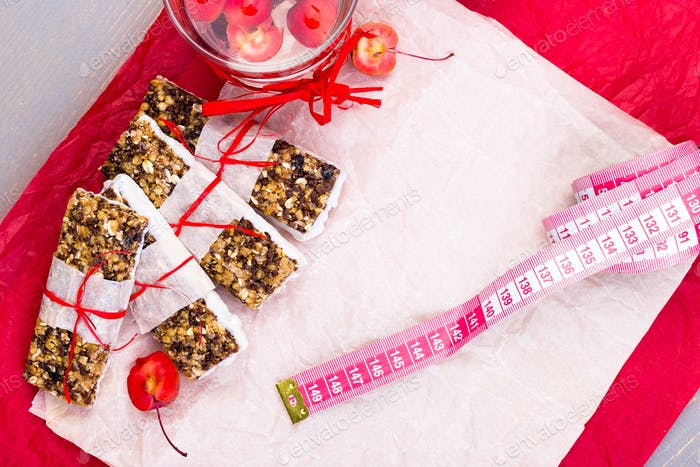 Diet muesli bars