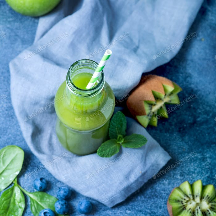 Healthy Green Smoothie, Detox Drink