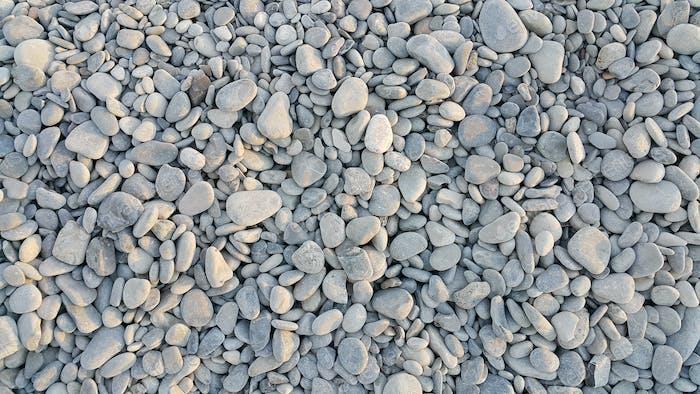 Meer Kieselsteine Hintergrund