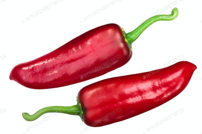 Numex joe e parker chile pepper, top