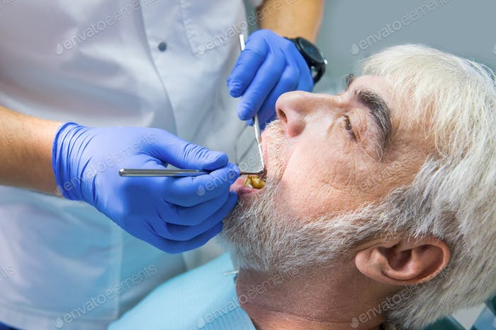Procedure of dental examination