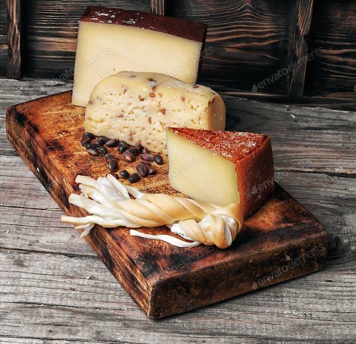 range Swiss cheeses