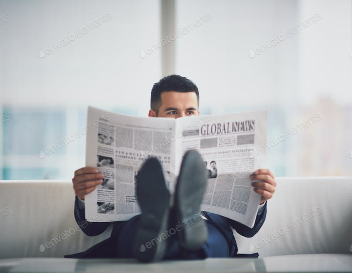 Reading fresh news