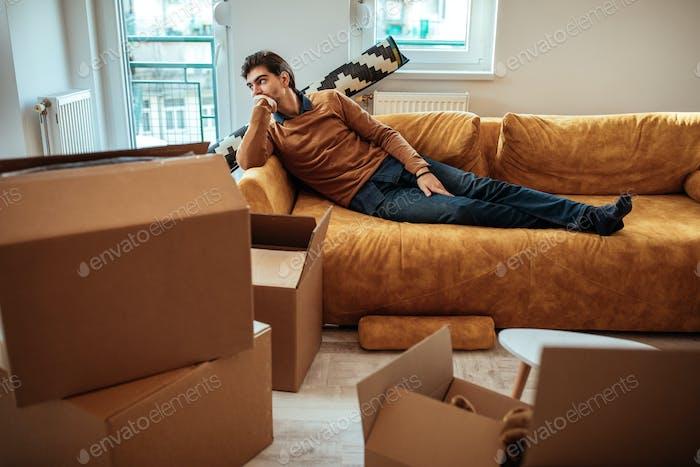 Preocupado por mudarse