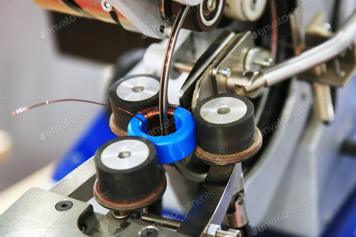 Manufacture of toroidal transformer