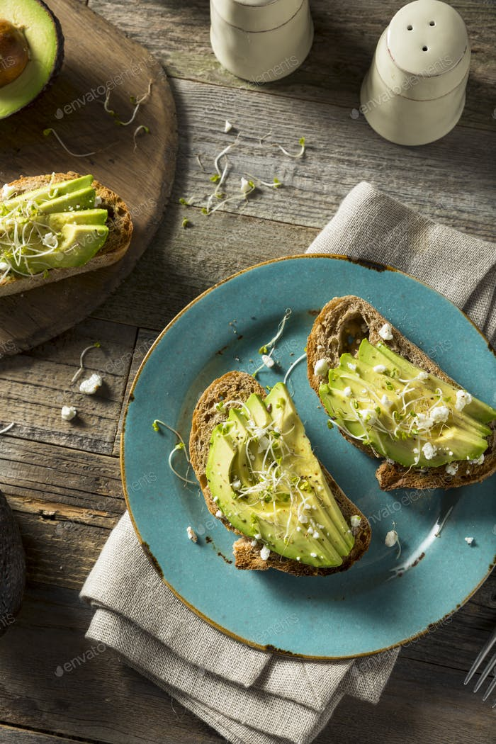 Thumbnail for Healthy Homemade Avocado Toast