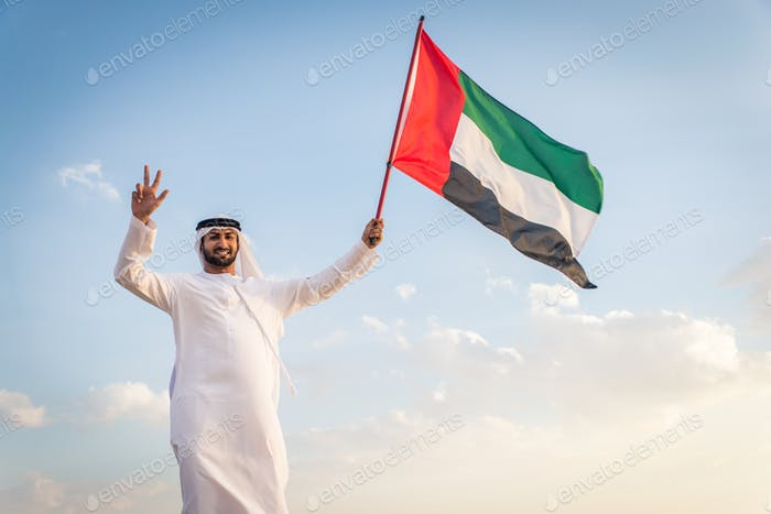 Arabic men in the desert