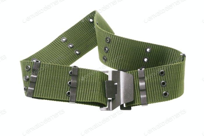 Nylon Canvas Army Belt