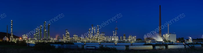Chemical Plant Panorama