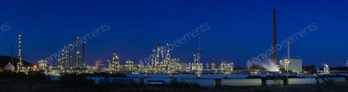 Panorama de plantas químicas