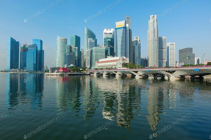 Singapore skyscrapers
