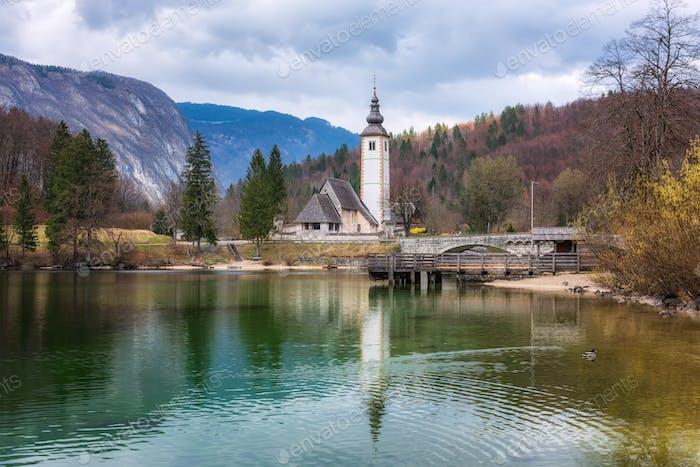 Bohinj lake, Slovenia