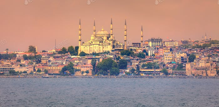 Golden Horn in Istanbul, Turkey