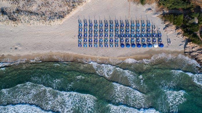 Paradise beach. Thassos Island, Greece