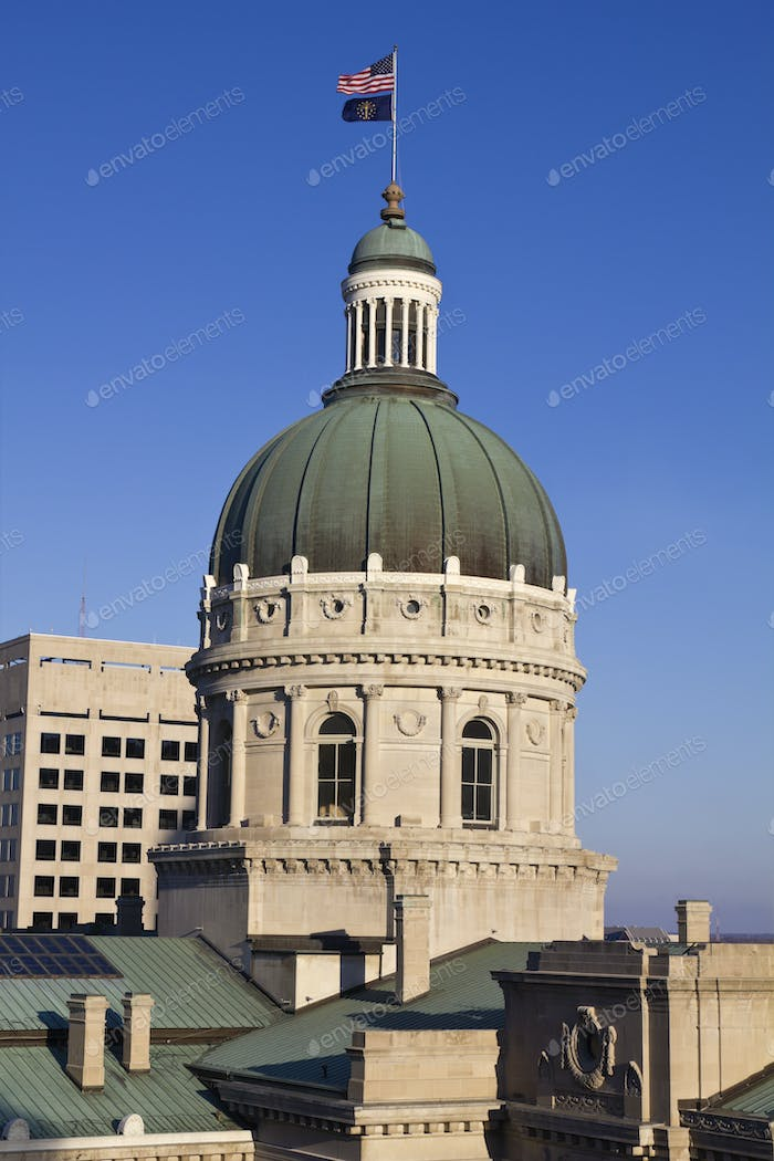 State Capitol Building in Indianapolis