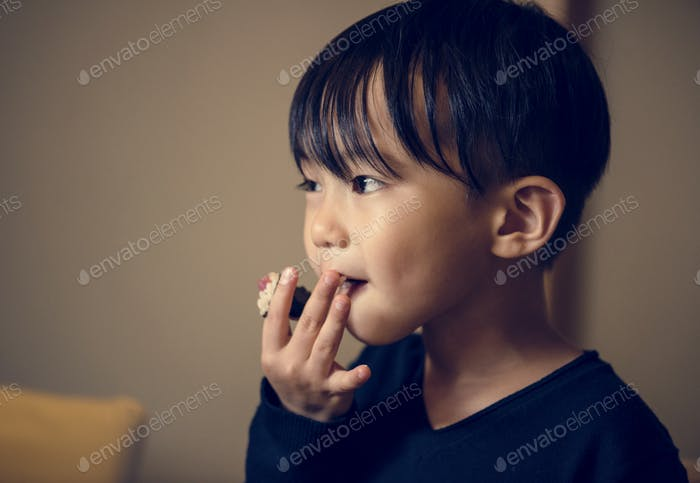 Young asian boy innocence adorable