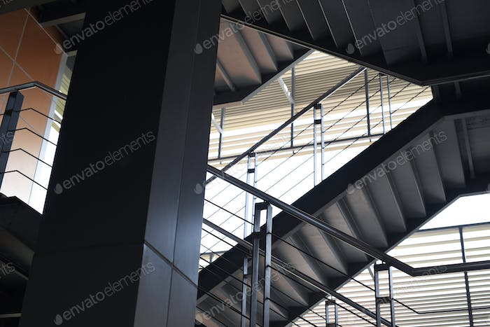 Business Startup Office Building Stairways