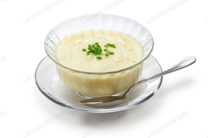 vichyssoise, cold potato soup