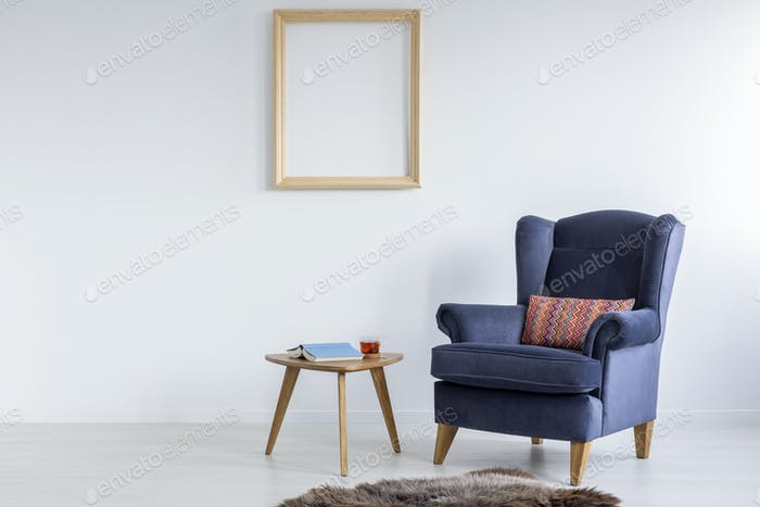 Minimalistic design of lounge