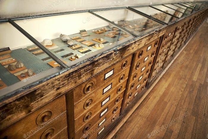 Vintage wooden window