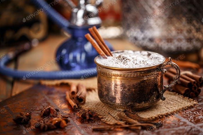 Chai latte spiced tea