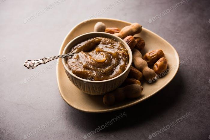 Dates Tamarind puree