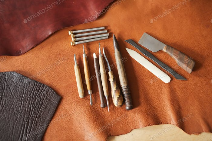 Tools For Leather Craftwork