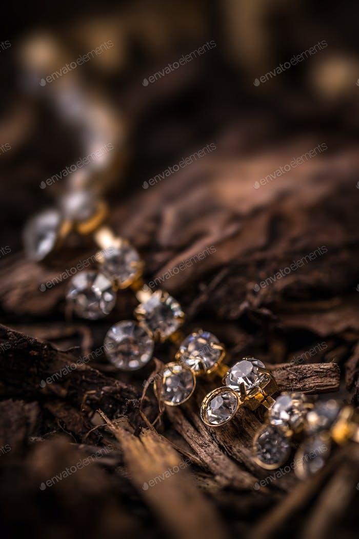 Goldplated feminine necklace