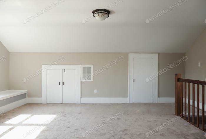 53989,Closets in empty attic room