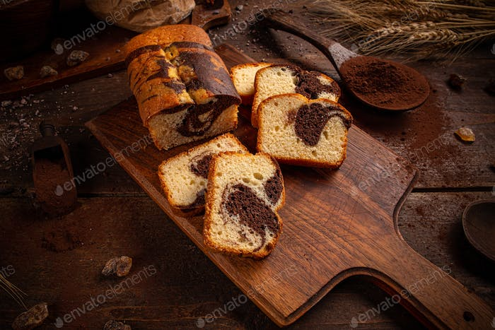 Thumbnail for Loaf cake with cocoa