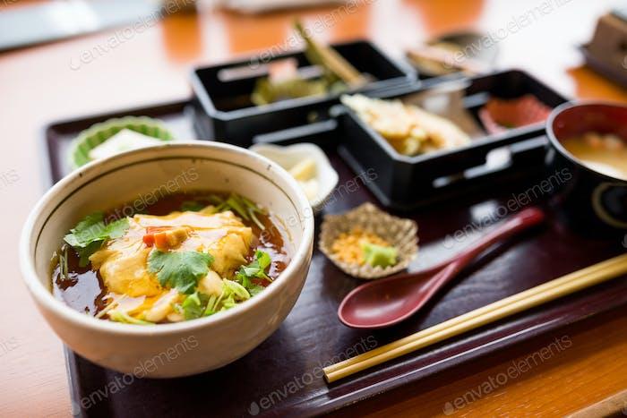 Japanese tofu cuisine