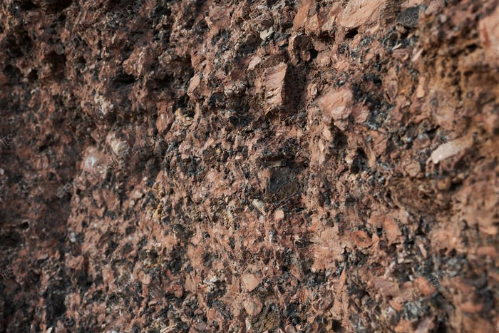 Rock wall of the mountain