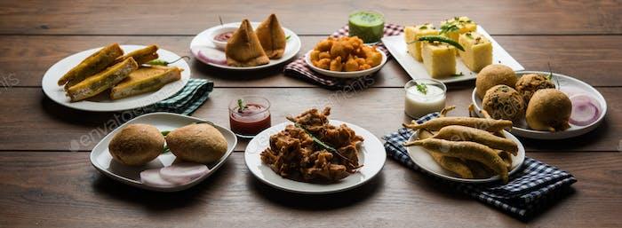 Indische Teezeit Snacks