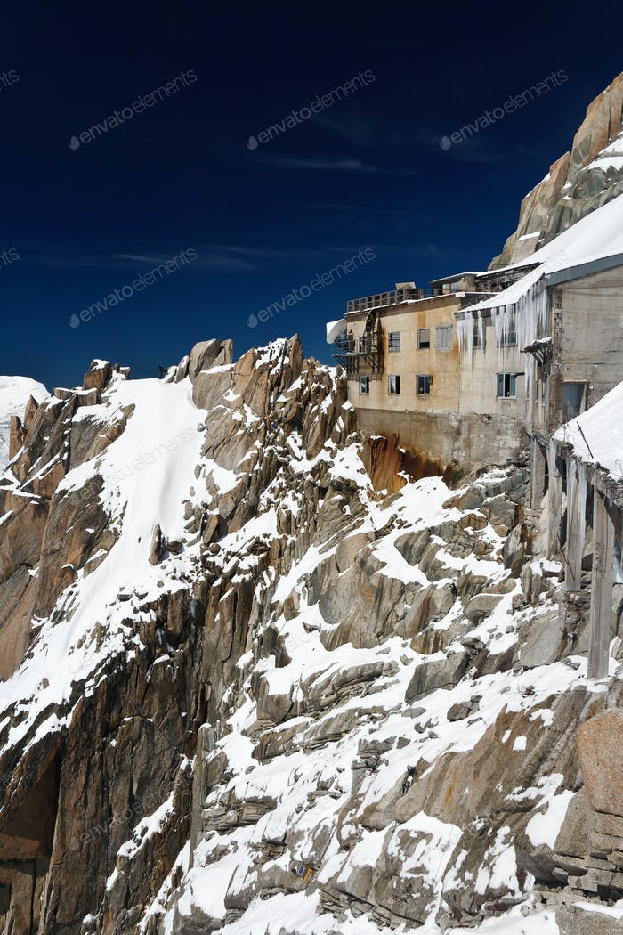 Haus in Aiguille du Midi - Mont Blanc