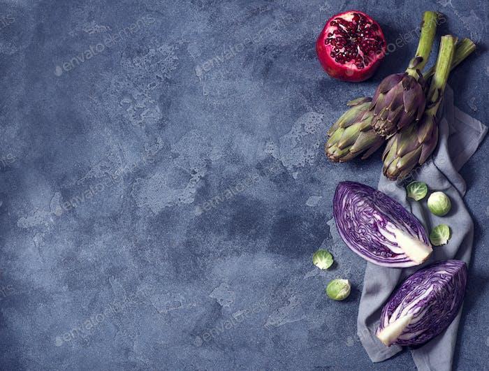 Gemüse zum Kochen, Zutaten