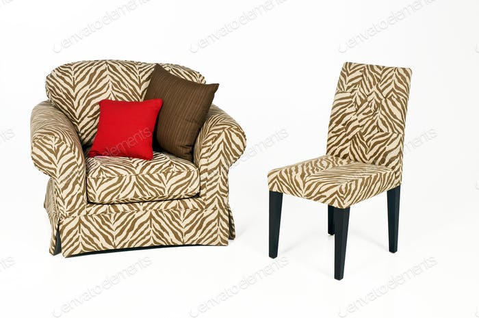 Sofa Armchair Chair Isolated