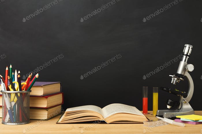 Back to school conceptual background