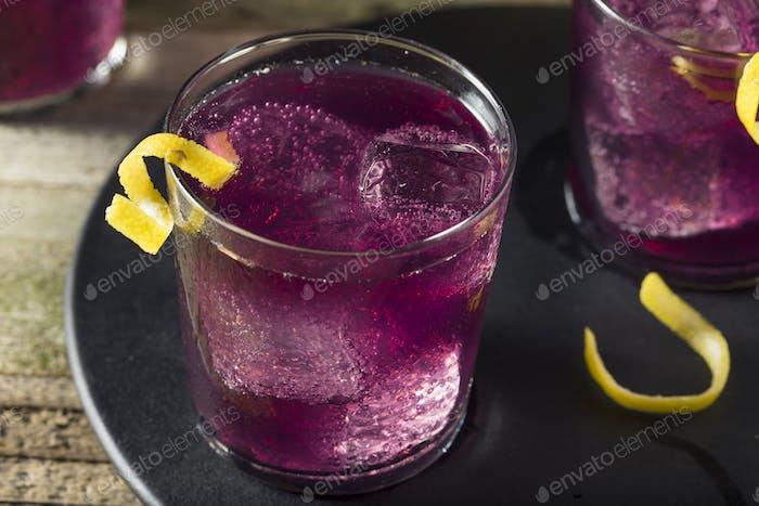 Homemade Purple Haze Cocktail