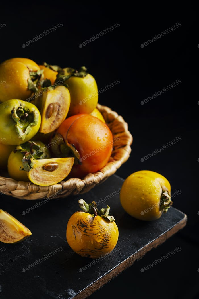 Sweet small persimmons