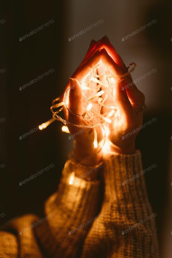 Рождественские лампы