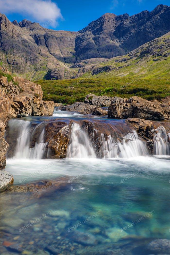 Beautiful Fairy Pools, Isle of Skye