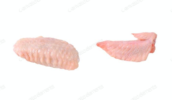 raw chicken wings
