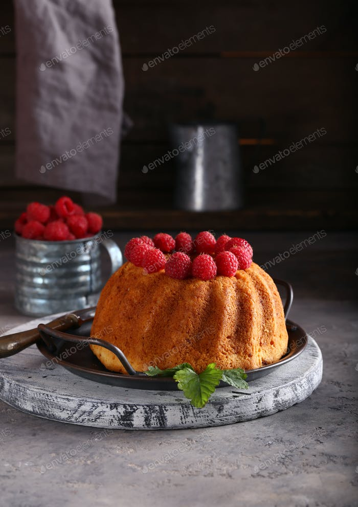 Runder Kuchen