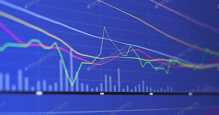 Diagramas financieros para el mercado de valores