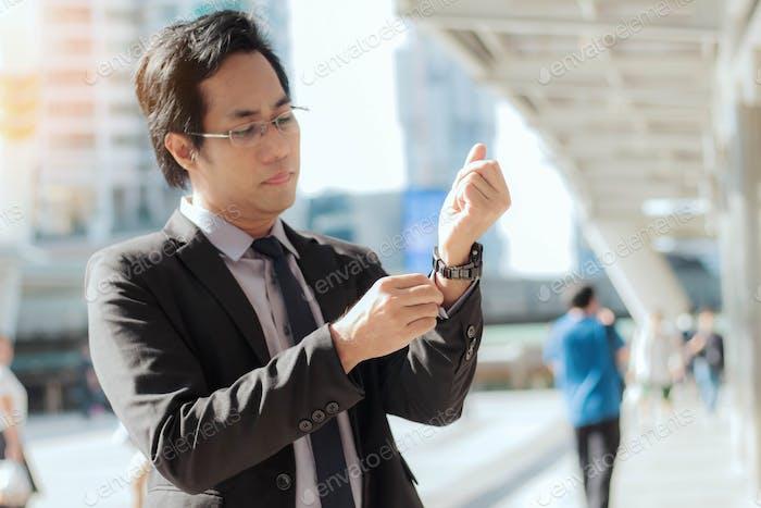 Geschäftsmann aus Asien